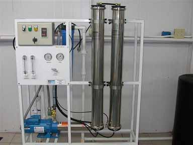 equipo de osmosis inversa