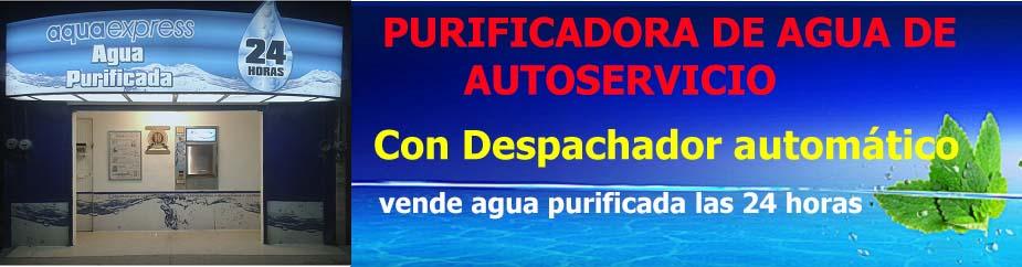 purificadora de agua autoservicio