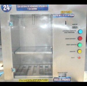 Despachador automático con cambio