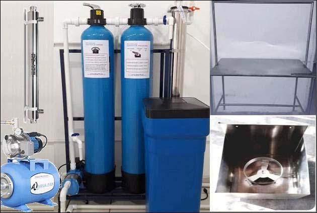 planta purificadora de agua de económica