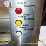 botones despachador de agua