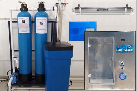 purificadora de agua 24 horas