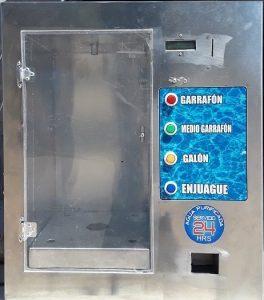 despachador automático de agua con cambio