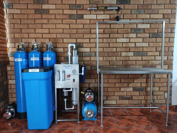 purificadora de agua 400 garrafones