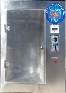 despachador automatico de agua purificada